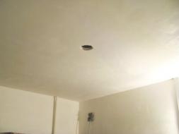 Gestuct plafond badkamer u devolonter